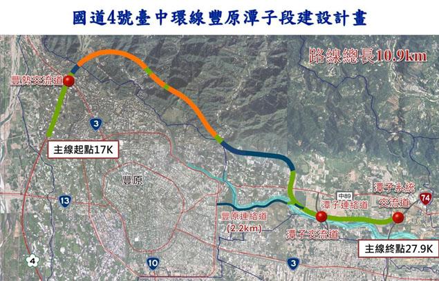 國道4號臺中環線豐原潭子段計畫